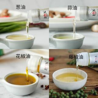 友加食品  汉源花椒油110ml  藤椒油110ml  香葱调味油110ml  香蒜调味油110ml 组合