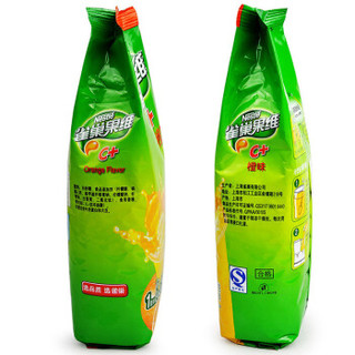 雀巢(Nestle)雀巢果维C+橙味 840g*12袋固体饮料整箱