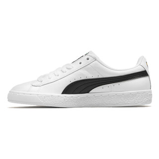 PUMA 彪马 男女同款 休闲鞋 板鞋 BASKET CLASSIC LFS 运动鞋 354367 22白色42码