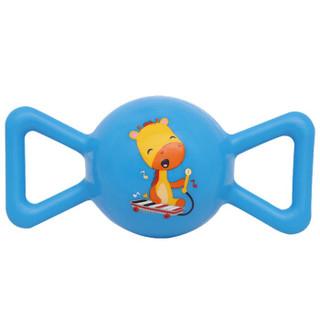 费雪(Fisher Price)儿童玩具球(认知球12片+摇铃球黄色+哑铃球绿色+糖果球蓝色+拉拉球红色)