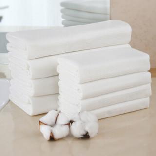 欣沁 旅行一次性浴巾 便携纯棉加厚洗澡毛巾酒店用品大号 5条装