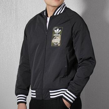 adidas 阿迪达斯 男子 三叶草系列 REV JACKET 运动 双面穿 夹克 DX4219 L码