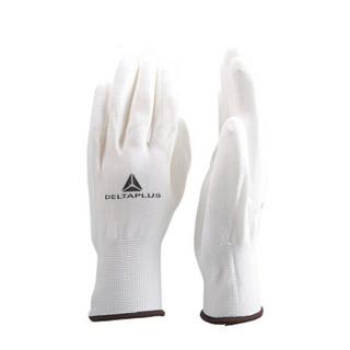 代尔塔 无硅PU精细操作手套 VE702 201702-白色-8 白色 8 一付装 订货号VE70208