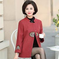 YUZHAOLIN 俞兆林 中老年女装宽松大码上衣   YWMM191322