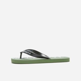 hotwind 热风 H61M9603男士时尚拖鞋 07绿色 M