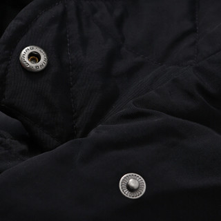 李宁 LINING AYMN114-1 篮球系列 女 长羽绒服 标准黑 M码