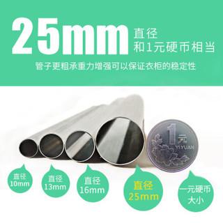 MENGKALAI/梦卡莱 简易衣柜 62CM-A02 欧式条纹 复合面料 62*45*170cm