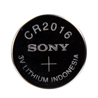 索尼(SONY)CR2016纽扣电池3V适用手表电脑主板汽车钥匙遥控器电子秤小米盒子五粒装 原装进口