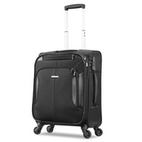Samsonite 新秀丽 拉杆箱万向轮行李箱男女商务旅行箱密码箱登机箱20英寸 BP0*09007 黑色