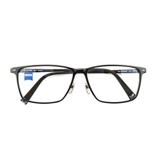 蔡司(ZEISS)板材男女全框眼镜架配镜近视光学镜架ZS-75001 F900