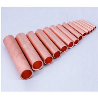 聚远 JUYUAN  16平方 铜管 电缆对接铜管 压接型连接管 直通铜接头 中间紫铜管 20个/包