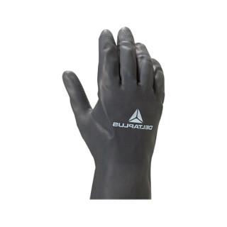 代尔塔 氯丁橡胶手套 VE530 201530-黑色 黑色 10 一付装 订货号VE530BM10