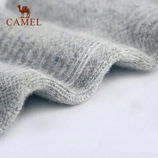CAMEL 骆驼 篮球袜透气运动袜子四季短袜男跑步男士棉袜6双装 A8S3D3109 黑色/白色/灰色 均码