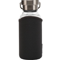 LOCK&LOCK 乐扣乐扣 LLG664GRY 耐热玻璃杯 450ml 灰色
