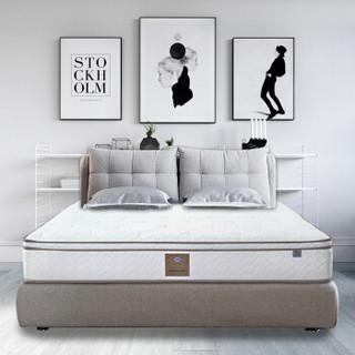 Sealy/丝涟 床垫 白色 乳胶 弹簧 海绵 200*200*28cm