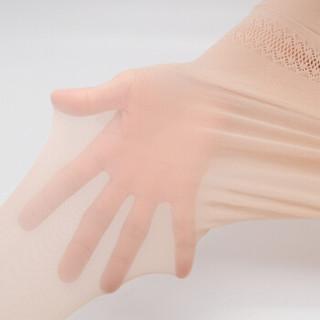 一统·红雨伞一统红雨伞强力防勾丝袜女10D丝袜苹果臀绢感连裤袜3双装 浅灰色1+自然肤色1+白皙肤1 超薄1D系列
