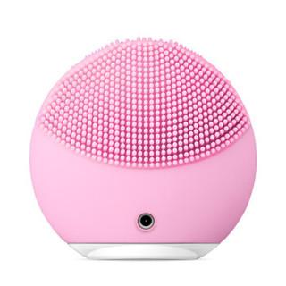 斐珞尔(FOREO)硅胶电动毛孔清洁美容按摩洗脸器洁面仪 露娜迷你2代 LUNA MINI2 粉红色