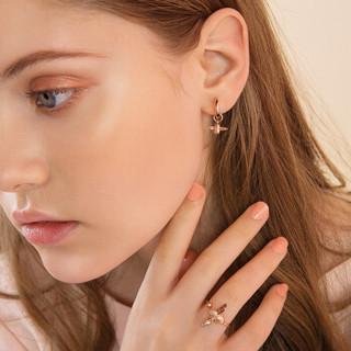 oliviaburton蜜蜂纯银耳环ob时尚百搭耳钉精致小耳钉饰品OBJ16AME33