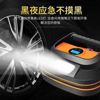 领臣 车载充气泵 汽车打气泵 预设胎压带放气阀 数显12v便携式汽车用品