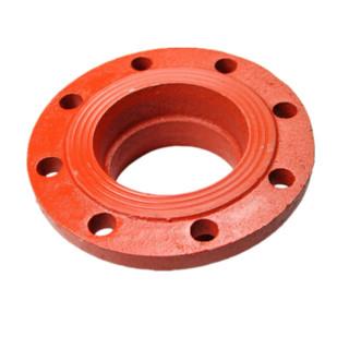 依卡诺 沟槽管件 消防管件 沟槽转换法兰 DN200(外径219) 一个价格 下单前请联系客服