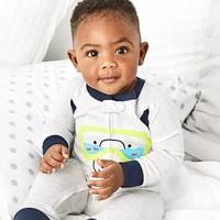 海淘活动:Carter's美国官网 夏季童装促销 连体衣、背心等