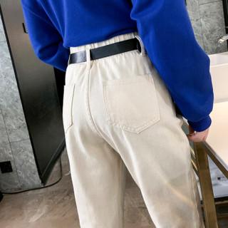 YUZHAOLIN 俞兆林 女装牛仔裤宽松九分直筒裤萝卜老爹裤 YWKN1917-27