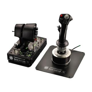 图马思特(THRUSTMASTER)A10C 全金属疣猪双手飞行控制器