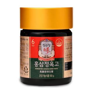 韩国进口 正官庄高丽参红参人参 玉膏100g*1瓶 含人参皂苷rh2