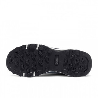CAMEL 骆驼 户外徒步鞋 舒适低帮网鞋越野耐磨登山情侣鞋男 A912330055 灰/白 43
