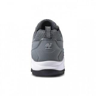 CAMEL 骆驼 户外徒步鞋 舒适低帮网鞋越野耐磨登山情侣鞋男 A912330055 灰/白 40
