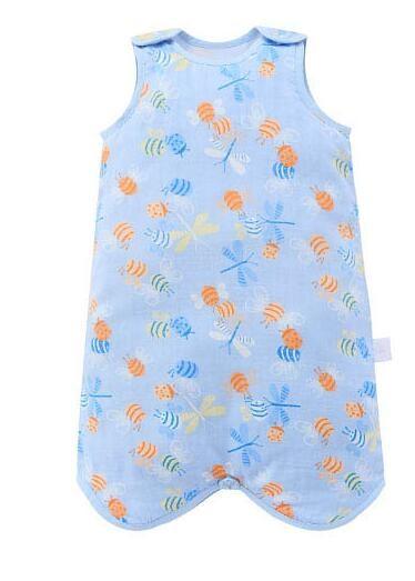 misslele 米乐鱼 婴儿纱布睡袋