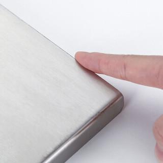 炊大皇 砧板 304不锈钢菜板切菜板家用擀面板揉面防霉大号饺子板50CM