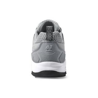 CAMEL 骆驼 户外徒步鞋 舒适低帮网鞋越野耐磨登山情侣鞋女 A91330655 浅灰/白 40