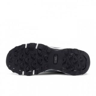 CAMEL 骆驼 户外徒步鞋 舒适低帮网鞋越野耐磨登山情侣鞋女 A91330655 黑/梅红 40