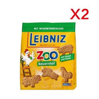 凑单品 :  LEIBNIZ 小麦黄油动物儿童饼干 125g*2袋