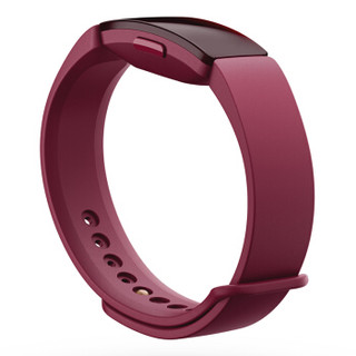 Fitbit Inspire 智能手环 时尚运动健身 睡眠监测 50米深度防水 自动锻炼识别 智能提醒来电显示 桑格丽亚红