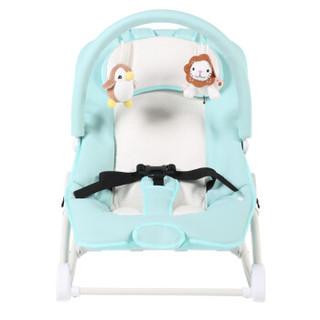 晨辉(CHBABY)婴儿摇椅宝宝哄睡哄娃神器电动摇篮儿童安抚摇摇椅新生儿多功能摇床A604A加大版 浅蓝