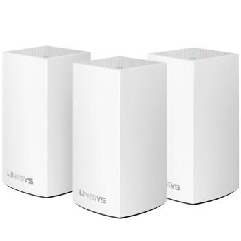 LINKSYS 领势 Velop WHW0103 1300M WiFi 5 分布式路由器 白色 三只装