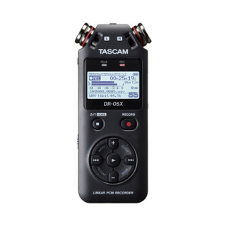 TASCAM DR-05X录音机 微电影录音 音乐学习主播vlog收音手机iphone话筒单反话筒