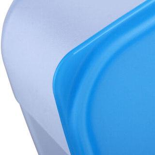 特百惠(Tupperware)长方形冰鲜冷冻保鲜6件套 冰箱密封储物收纳盒套装1.7L*6新老颜色随机发货