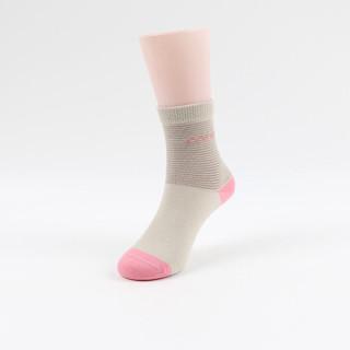 雅鹿 雅鹿 儿童袜子 男女童精梳棉袜宝宝五双装中筒短袜 F0889C3163 小兔子 M