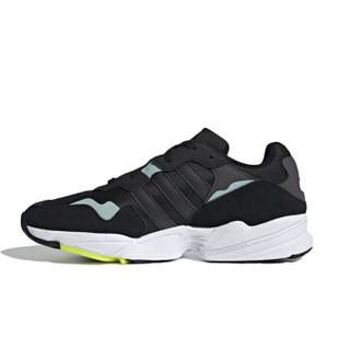 adidas 阿迪达斯 三叶草 中性 三叶草系列 YUNG-96 运动 经典鞋 BD8042 黑色 42码 UK8码