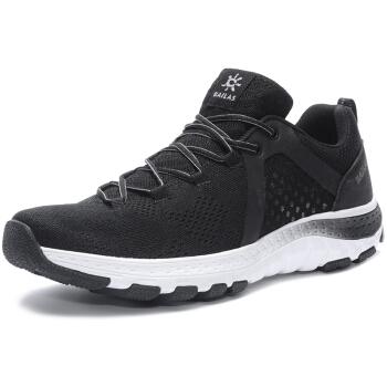 KAILAS 凯乐石 户外越野徒步登山鞋男士低帮旅行运动跑步轻量防滑减震功能鞋  KS611459  黑色  40