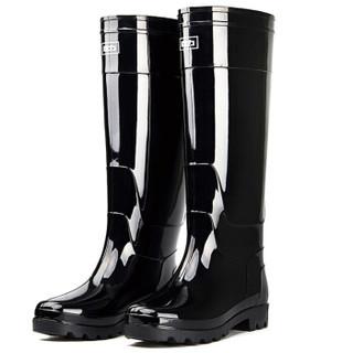 回力男士超高筒雨鞋雨靴胶鞋套鞋防水鞋 8199超高筒43
