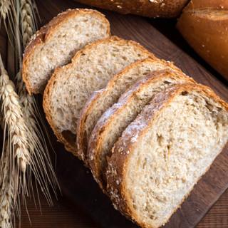 新良全麦面包粉 高筋面粉 烘焙原料 含麦麸皮 面包机用小麦粉 500g*5袋