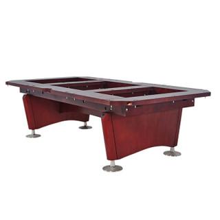 星牌台球桌XW136-9B 美式九球台球桌 成人标准尺寸花式九球桌球台