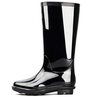 回力男士中高筒雨鞋雨靴胶鞋套鞋防水鞋 838高筒40