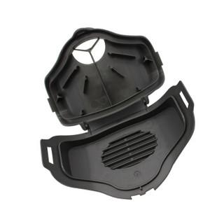 3M防尘面具3100半面具套装 防尘防颗粒防雾霾防护面罩3件套装 含KN95级3701CN滤棉100片