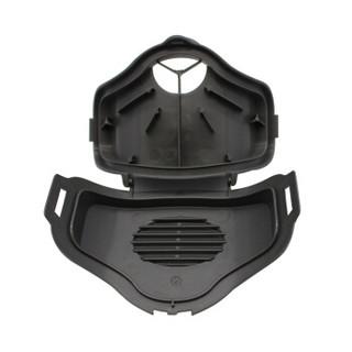3M防尘面具3100半面具套装 防尘防颗粒防雾霾防护面罩3件套装 含KN95级3701CN滤棉10片