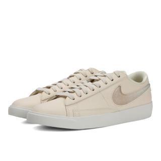 NIKE 耐克 BLAZER LOW 女士休闲运动鞋 AV9371-100 白色 37.5